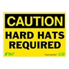 Zing 2149 Caution Sign, 10 x 14In, BK/YEL, ENG, Text