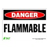 Zing 2098S Sign, Danger Flammable, 10x14, Adhesive