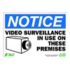 Zing 2143 Notice Security Sign, 10 x 14In, ENG, SURF