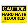 Zing 2149S Caution Sign, 10 x 14In, BK/YEL, ENG, Text