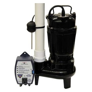 PHCC PRO SERIES Sewage Pump with Switch, 1/2 HP, Cast Iron at Sears.com