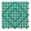 San Jamar VM5280DGGR Bar Mat, Dark Green, 12x12