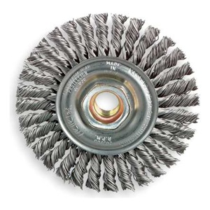 Weiler Wire Wheel, Str Bd, 4-1/2 D, Max RPM 12, 500 at Sears.com
