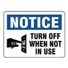 Stranco Inc OSL-848-10PK Label, Instruction, 3-1/2 In. H, PK 10