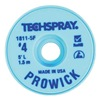 Tech Spray 1811-5F Pro Wick Blue #4 Braid - AS