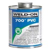 Weld-On 13969 Pipe Cement, Clear, 16 Oz, PVC