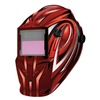 Westward 6VKF8 Welding Helmet, Grind Red