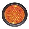 Truck-Lite Co Inc 44101Y Strobe Light, LED, Amber, Round, 5-1/2 Dia