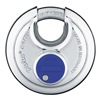 Abus 24IB/70 MK KD Stainless Steel Diskus Padlock, Silver