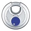 Abus 24IB/60 MK Stainless Steel Diskus Padlock, Silver