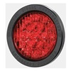 Federal Signal 607123-04 Warning Light, LED, Red, H 1.75 In