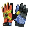 Impacto BGHIVISXL Anti-Vibration Gloves, XL, Black/Orange, PR