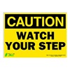 Zing 2154S Caution Sign, 10 x 14In, Watch Your Step