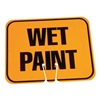 Cortina 03-550-WP Traffic Cone Sign, Org/Black, Wet Paint
