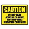 Stranco Inc OSL-807-10PK Label, Instruction, 3-1/2 In. H, PK 10
