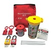 Zing 7121 PortableLockoutKit, Filled, Electrical, Red