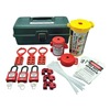 Zing 7129 Portable Lockout Kit, Electrical, Tool Box