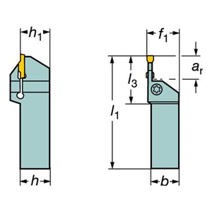 Sandvik Coromant LF123G20-2525B