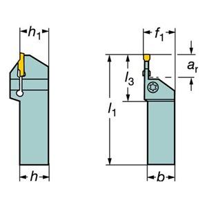 Sandvik Coromant LF123L138-24BM