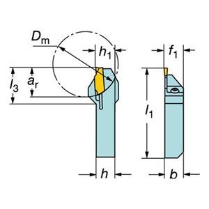 Sandvik Coromant QS-LF123E043-08B