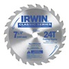 "Irwin Industrial Tool Co 25130 7-1/4"" 24T Carb Blade, Pack of 25"