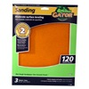 "Ali Industries 7263 3 Pack 9"" x 11"" 120 Grit Sandpaper Sheet"