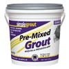 Custom Bldg Products PMG3811 Gallon Bright White Pre-Mixed Grout