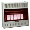 World Marketing KWP322 Infrared Five Plaque LP Wall Heater, 25,000 BTU