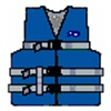Stearns Inc 3000001708 Youth BLU WTR Vest
