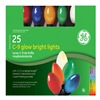 GE  GE65335CC 25 Count Multicolored Ceramic Light Set