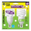 GE Lighting 75368 GE2PK13W Twist CFL Bulb