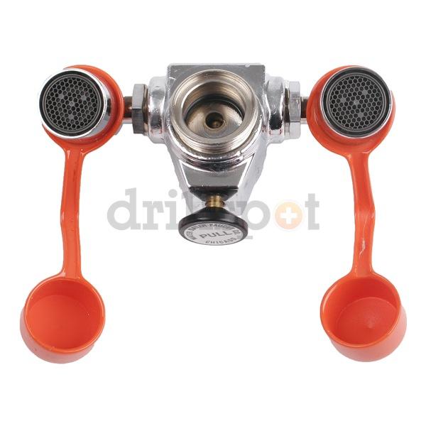 Faucet Companies : Watersaver Faucet Company EW100 Eyewash, Faucet Mount, 4-1/4 W, 2-1/4 ...