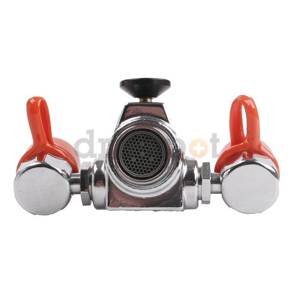 Watersaver Faucet Company EW100 Eyewash, Faucet Mount, 4-1/4 W, 2-1/4 ...