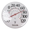 Taylor 49562 Analog Thermometer, -60 to 120 Degree F