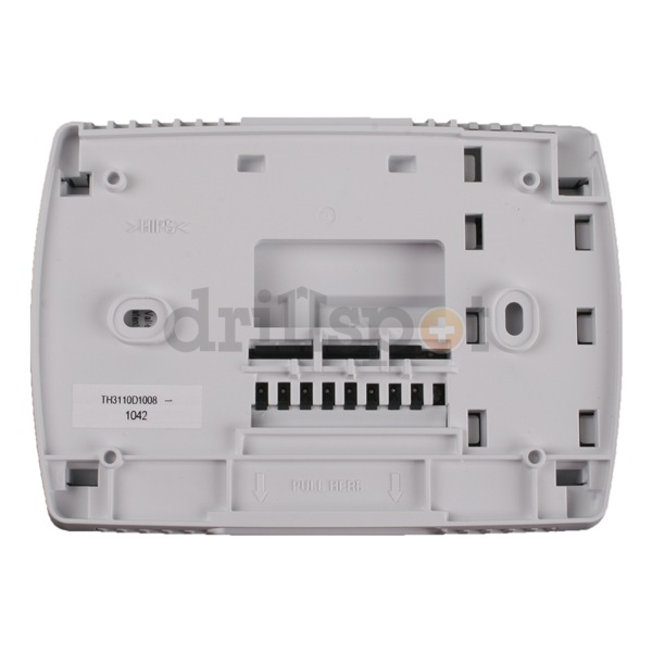 new honeywell pro 3000 th3110d1008 non programmable digital thermostat new wiring diagram and