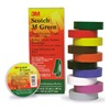 3M 35GREEN3/4X66FT Electrical Color Coding Tape, Pack of 2
