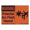 Panduit PPS0204W2100 Safety Warning Sign & Information Signs-Labels, Pack of 5