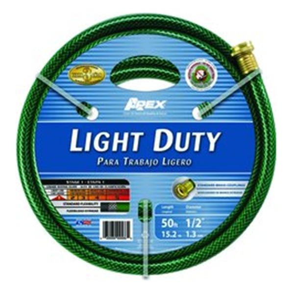Teknor Apex 7500 50 1/2 x 50ft Economy Light Duty Hose 225psi, Solid
